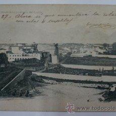 Postales: ANTIGUA POSTAL. Nº 11 - CEMENTERIO Y PALACIO DEL CONDE. LLANES (ASTURIAS) 1904. FOT LAURENT.. Lote 39208883