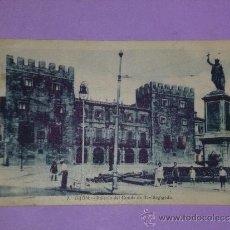 Postales: GIJON.- PALACIO DEL CONDE DE REVILLAGIGEDO. (POSTAL CIRCULADA). Lote 39118155