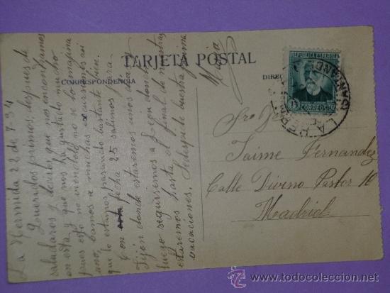 Postales: ASTURIAS.- VISTA DE PEÑAMELLERA Y SU ANTIGUA CAPITAL. (POSTAL CIRCULADA) - Foto 2 - 39118161