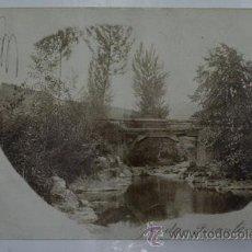 Postales: ANTIGUA POSTAL. GRADO - PUENTE RÚSTICO. 1906. Lote 39834823