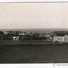 Postales: PUERTO DE VEGA, ASTÚRIAS, 1956. POSTAL FOTOGRÁFICA, FOTO: MANOLO. TEXTO REVERSO. Lote 39937870