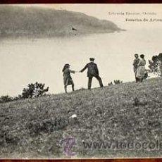 Postales: ANTIGUA POSTAL DE CONCHA DE ARTEO - LIBRERIA ESCOLAR - HAUSER Y MENET - ESCRITA EN 1920 -. Lote 38236303