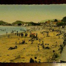 Postales: ANTIGUA FOTO POTAL DE RIBADESELLA (ASTURIAS) VISTA DE LA PLAYA - ESTUDIO HEVIA - ESCRITA. Lote 38263961
