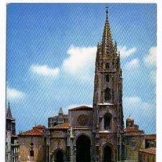 Postales: OVIEDO - LA CATEDRAL (CIRCULADA 1966). Lote 40299933