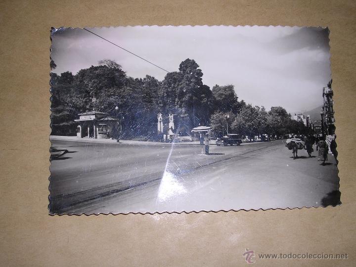 221 .- OVIEDO CALLE URIA , DISTR. VDA. DE PAREDES CIRCULADA 1959 - 14X9 CM. (Postales - España - Asturias Moderna (desde 1.940))