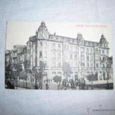 Postales: OVIEDO PLAZA DE LA ESCANDALERA.1571.-FOTOTIPIA THOMAS BARCELONA . Lote 40672770