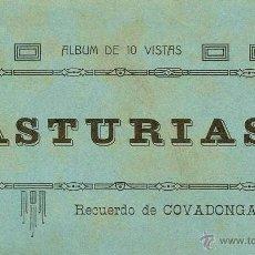 Postales: ALBUM DE POSTALES RECUERDO COVADONGA 1910 - ASTURIAS - IMPECABLE COMPLETO - EL BARATO CANGAS DE ONIS. Lote 40702455