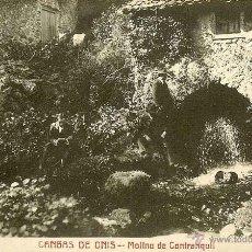 Postales: RARISIMA POSTAL DE CANGAS DE ONIS - ASTURIAS - MOLINO DE CONTRANQUIL - EXCEPCIONAL. Lote 40702871