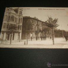 Postales: GIJON ASTURIAS PASEO DE ALFONSO XII TEATRO DINDURRA. Lote 41055954