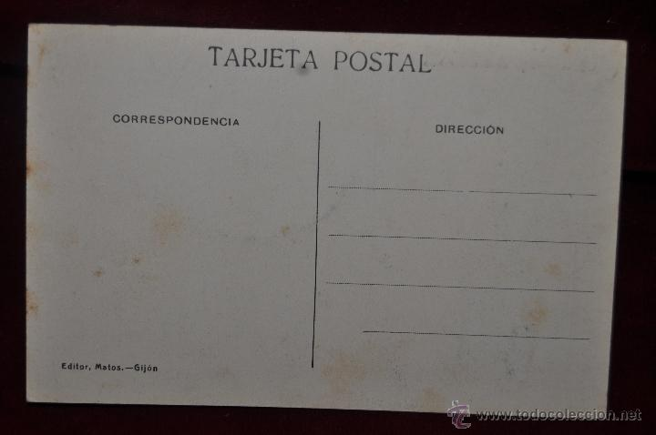 Postales: ANTIGUA POSTAL DE GIJON. ASTURIAS. PLAYA DE SAN LORENZO. ED. MATOS. SIN CIRCULAR - Foto 2 - 41131769