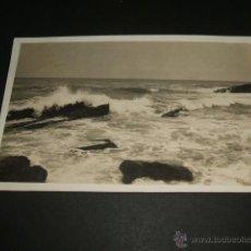 Postales: ASTURIAS PAISAJE DE LA COSTA POSTAL FOTOGRAFICA CELESTINO COLLADA OVIEDO CIRCULADA EN 1924 . Lote 41229778