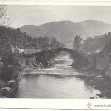 Postales: PS1998 INFIESTO 'PUENTE ROMANO'. POSTAL FOTOGRÁFICA. FOTO COLLADA. SIN CIRCULAR. Lote 41317649
