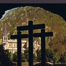 Postales: POSTAL CUEVA SANTA DE COVADONGA - ASTURIAS. Lote 41527573