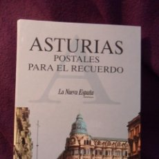 Postales: ASTURIAS. POSTALES PARA EL RECUERDO. ALBUM CON 144 POSTALES. FOTOS ANTIGUAS. EDITADO POR EL DIARIO L. Lote 50273656