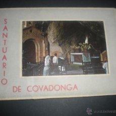 Postales: COVADONGA. ACORDEON CON 10 VISTAS DEL SANTUARIO. GARRABELLA.. Lote 41544167