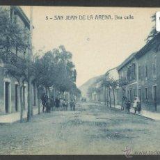 Postales: SAN JUAN DE LA ARENA - 5 - UNA CALLE - THOMAS - (19357). Lote 41575675