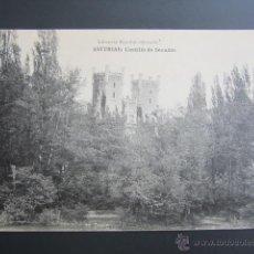 Postales: POSTAL ASTURIAS. CASTILLO DE SECADES. . Lote 41800359