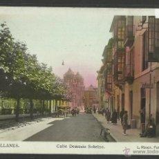 Postales: LLANES - 3 - CALLE DEMESIO SOBRINO - FOTOGRAFICA ROISIN - (2626). Lote 42157521