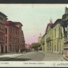 Postales: LLANES - 4 - CALLE DEMESIO SOBRINO - FOTOGRAFICA ROISIN - (2627). Lote 42157528