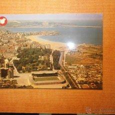 Postales: POSTAL GIJON VISTA PARCIAL AEREA ESCRITA. Lote 42245230