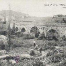 Postales: REPRODUCION POSTAL ANTIGUA (PORCÍA-TAPIA DE CASARIEGO). Lote 277719853