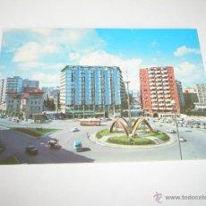 Postales: POSTAL-ASTURIAS-GIJÓN-PLAZA DE LOS MÁRTIRES-1967-NUEVA-.. Lote 42762830