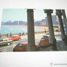 Postales: POSTAL-GIJÓN-ASTURIAS-PLAYA DE SAN LORENZO-1988-NUEVA-.. Lote 42763640
