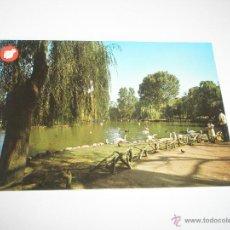 Postales: POSTAL-GIJÓN-ASTURIAS-PARQUE DE ISABEL LA CATÓLICA(LAGO)-1972-NUEVA-.. Lote 42767360