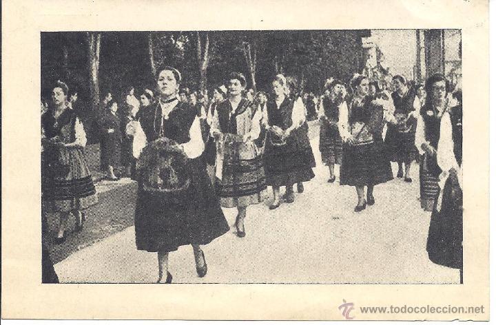 PS4371 POSTAL DEL DÍA DE AMÉRICA EN ASTURIAS. MAPRA. 1954 (Postales - España - Asturias Moderna (desde 1.940))