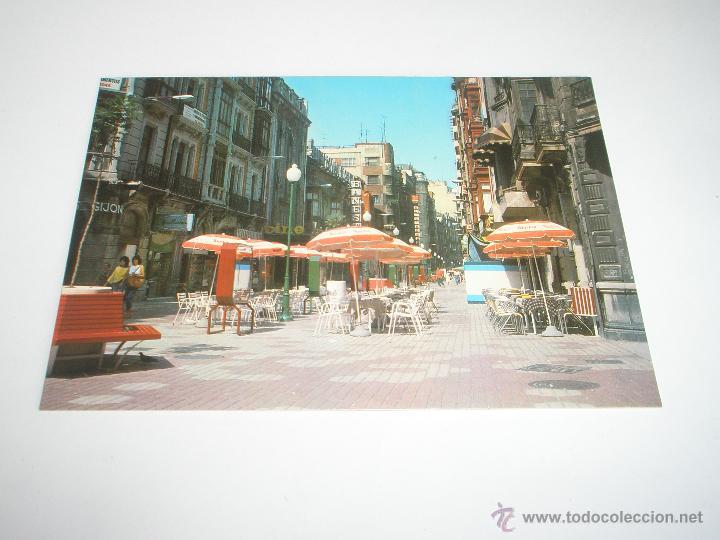 POSTAL-GIJÓN-ASTURIAS-CALLE CORRIDA-1988-NUEVA-. (Postales - España - Asturias Moderna (desde 1.940))