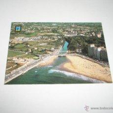 Postales: POSTAL-GIJÓN-PLAYA DE SAN LORENZO-EL PILES-1976-NUEVA- .. Lote 42792606