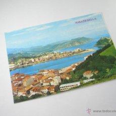 Postales: POSTAL-RIBADESELLA-ASTURIAS-VISTA PARCIAL-1967-NUEVA-.. Lote 42970501