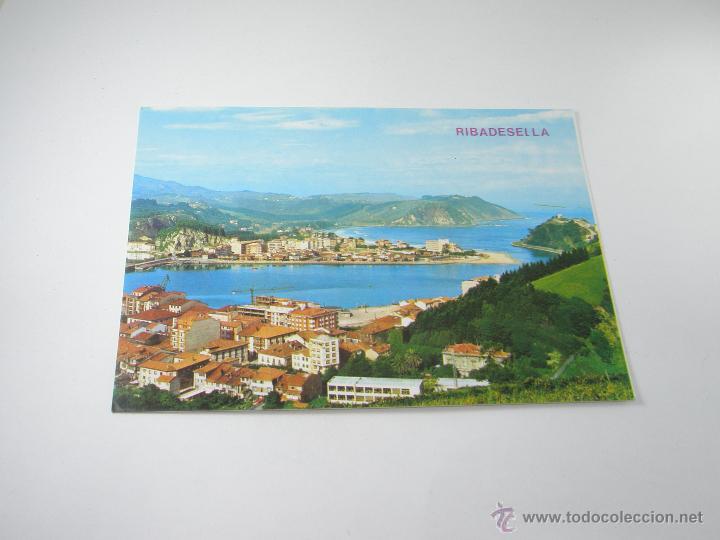 Postales: POSTAL-RIBADESELLA-ASTURIAS-VISTA PARCIAL-1967-NUEVA-. - Foto 2 - 42970501