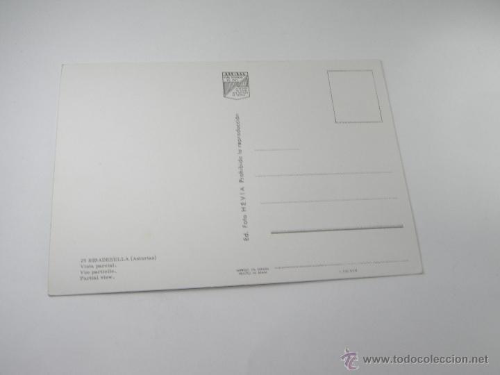 Postales: POSTAL-RIBADESELLA-ASTURIAS-VISTA PARCIAL-1967-NUEVA-. - Foto 3 - 42970501