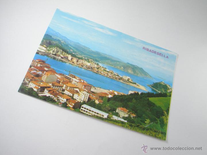 Postales: POSTAL-RIBADESELLA-ASTURIAS-VISTA PARCIAL-1967-NUEVA-. - Foto 4 - 42970501
