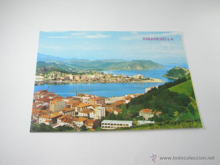 Postales: POSTAL-RIBADESELLA-ASTURIAS-VISTA PARCIAL-1967-NUEVA-. - Foto 5 - 42970501
