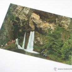Postales: POSTAL-COVADONGA-ASTURIAS-LA SANTINA-1965-NUEVA-.. Lote 43008894