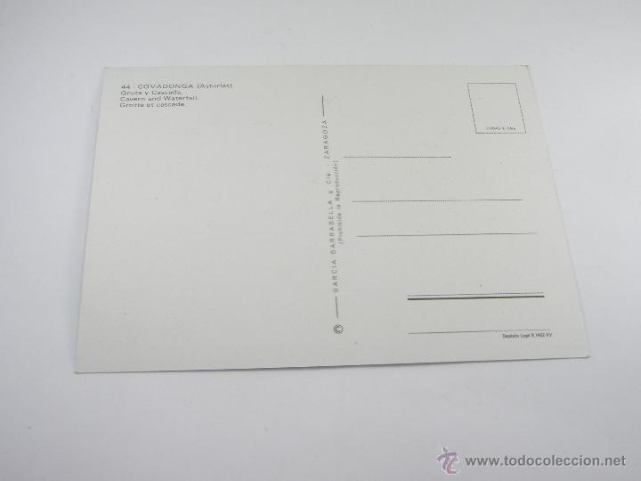 Postales: POSTAL-COVADONGA-ASTURIAS-LA SANTINA-1965-NUEVA-. - Foto 2 - 43008894