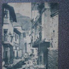 Postales: CUDILLERO ASTURIAS UNA CALLE POSTAL AÑO 1902. Lote 43016727