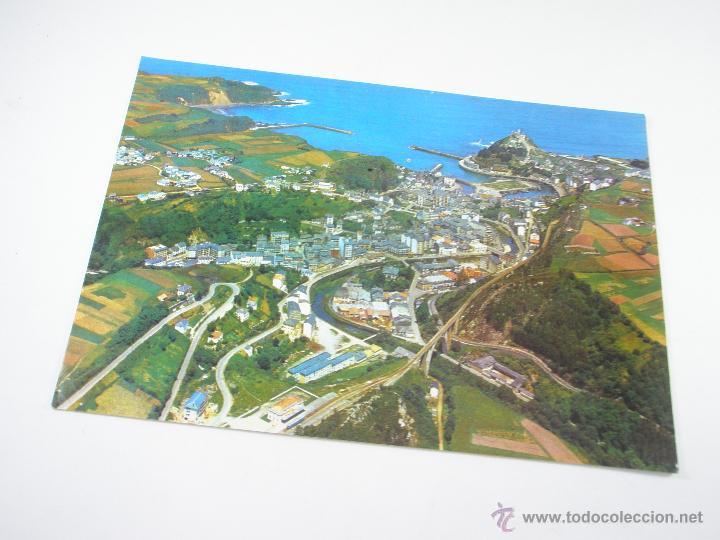 POSTAL-LUARCA-ASTURIAS-ESPAÑA-VISTA PANORAMICA-1967-NUEVA-. (Postales - España - Asturias Moderna (desde 1.940))