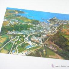 Postales: POSTAL-LUARCA-ASTURIAS-ESPAÑA-VISTA PANORAMICA-1967-NUEVA-.. Lote 43017392