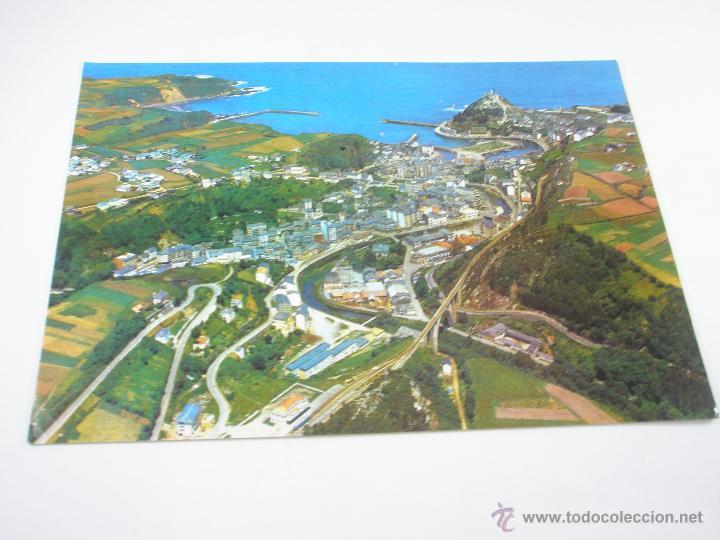 Postales: POSTAL-LUARCA-ASTURIAS-ESPAÑA-VISTA PANORAMICA-1967-NUEVA-. - Foto 3 - 43017392