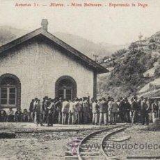 Cartes Postales: REPRODUCION POSTAL ANTIGUA (MINA BALTASARA-MIERES). Lote 43034756