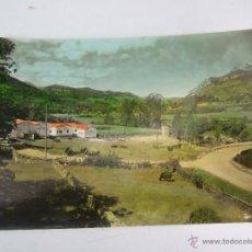 Postales: POSTAL - ARENAS DE CABRALES - CENTRAL EN CONSTRUCCION DE LA ELECTRA DE VIESGO - ARRIBAS 19 - COLOREA. Lote 43650577