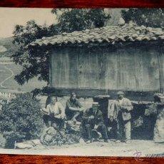 Postales: ANTIGUA POSTAL DE ASTURIAS . PUERTO DE PAJARES, UN HORREO - N. 36 - SIN CIRCULAR - FOTO GRAFOS - REV. Lote 43681887