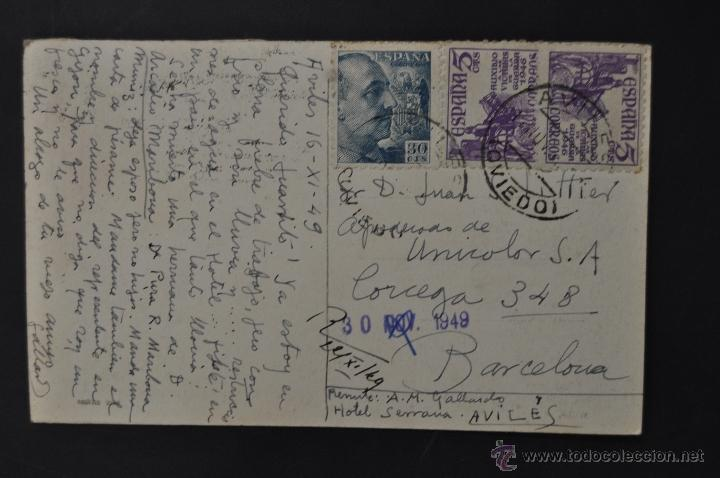 Postales: ANTIGUA FOTO POSTAL DE AVILES. ASTURIAS. PAISAJE. ED. ARRIBAS. CIRCULADA - Foto 2 - 44198700