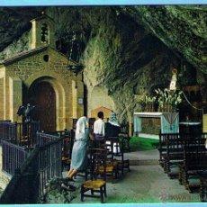 Cartes Postales: 11.- COVADONGA (ASTURIAS) INTERIOR DE LA GRUTA. GARCIA GARRABELLA Y CIA. NO CIRCULADA. Lote 44710254