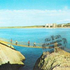 Postales: POSTAL - SALINAS - PUENTE COLGANTE - NO CIRCULADA. Lote 44900161