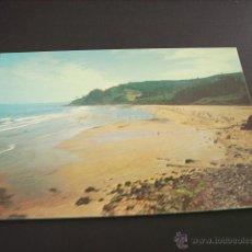 Postales: COLUNGA ( ASTURIAS) PLAYA DE LA CABAÑA DEL MAR. Lote 45064596