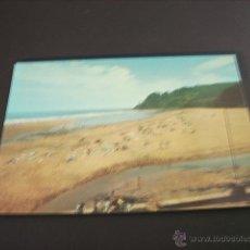 Postales: COLUNGA (ASTURIAS) PLAYA DE LA CABAÑA DEL MAR. Lote 45064614